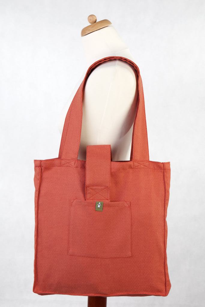 Lenny Lamb Shoulder bag Diamond Burnt Orange