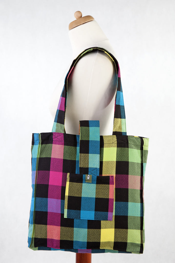Lenny Lamb Shoulder bag Plaid DIAMONDS