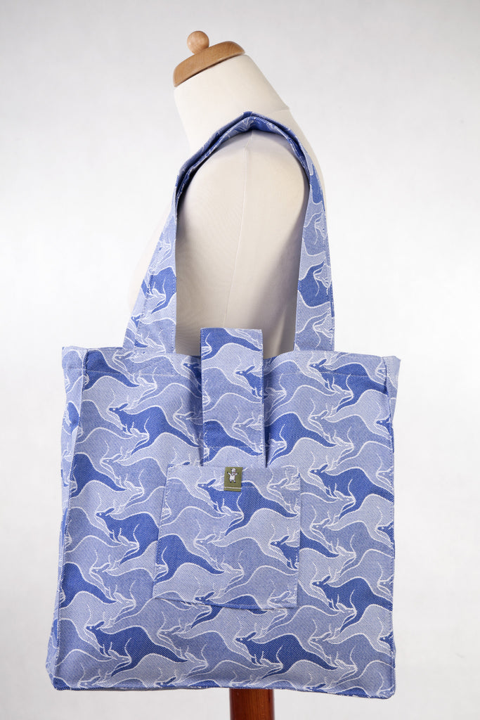 Lenny Lamb Shoulder bag Blue Two Roos
