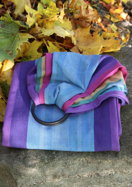 Vanamo Spectra Purple Ring Sling (organic cotton)