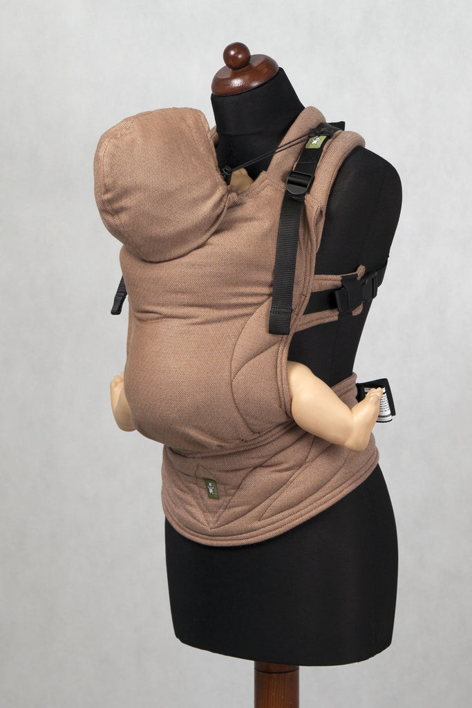 Lenny Lamb Ergonomic Full Buckle Carrier Diamond Brown (Cotton)