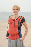 Lenny Lamb Ergonomic Full Buckle Carrier Burnt Orange (Cotton)
