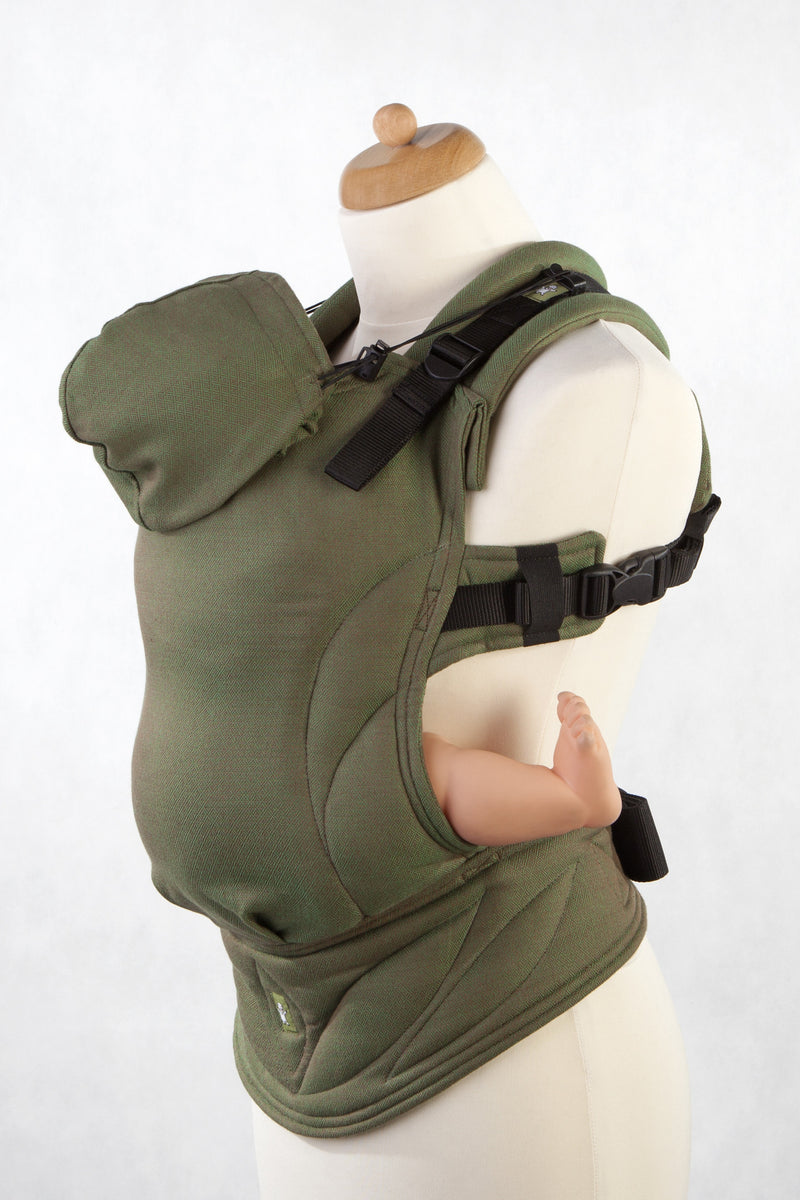 Lenny Lamb Ergonomic Full Buckle Carrier Camo Diamond (cotton)