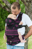 Lenny Lamb ROMANTIC LACE Ergonomic Full Buckle Carrier (cotton)