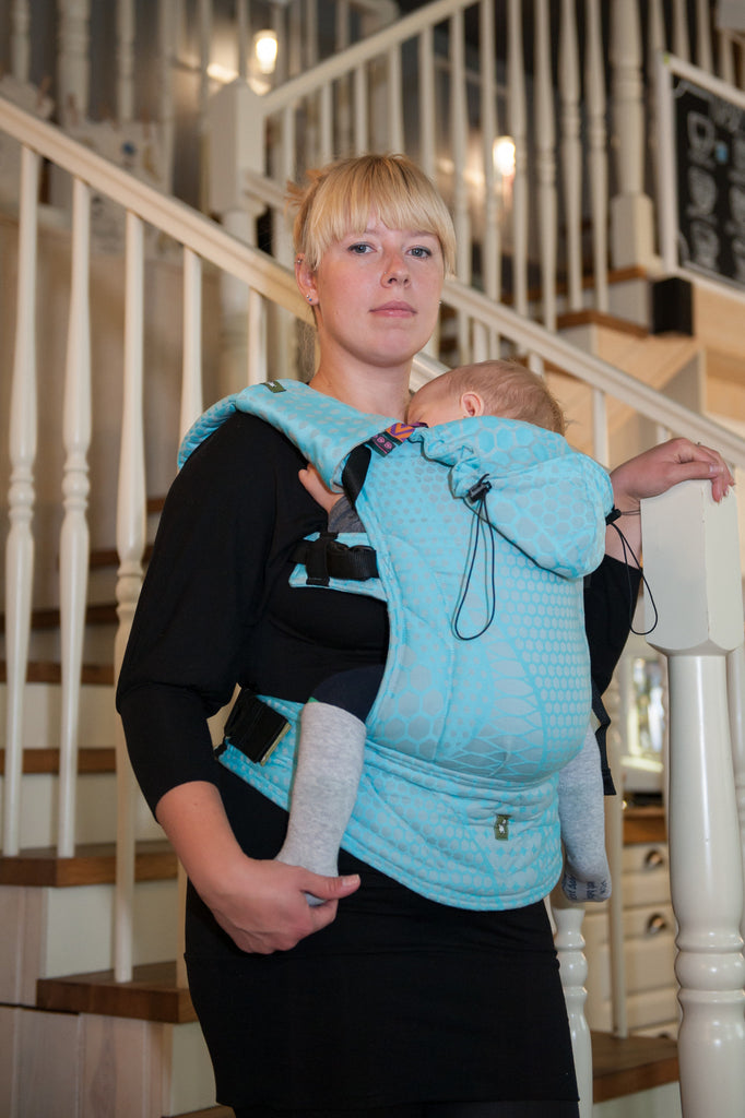 Lenny Lamb Ergonomic Full Buckle Carrier Futura (cotton)