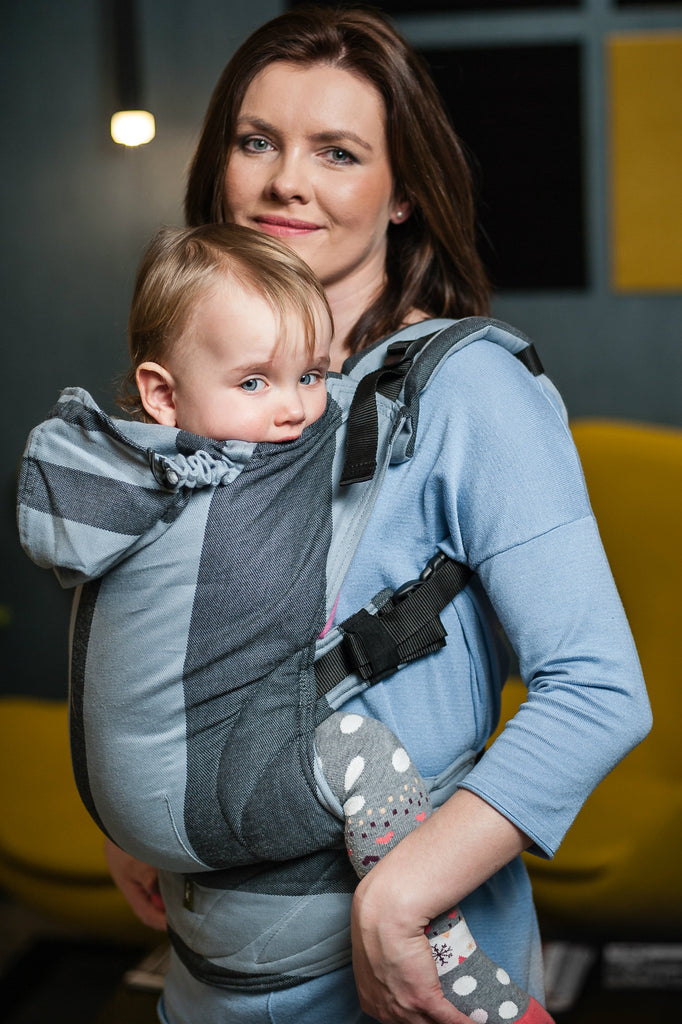 Lenny Lamb Ergonomic Full Buckle Carrier STARDUST (cotton)