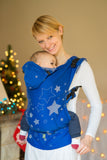 Lenny Lamb Ergonomic Full Buckle Carrier STARS BLUE (cotton)