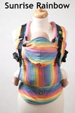 Lenny Lamb Sunrise Rainbow Ergonomic Full Buckle Carrier (bamboo blend)