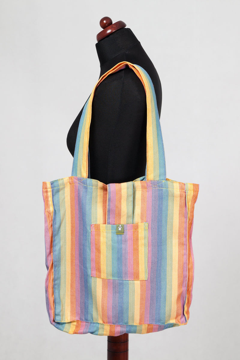 Lenny Lamb Shoulder bag SUNRISE RAINBOW