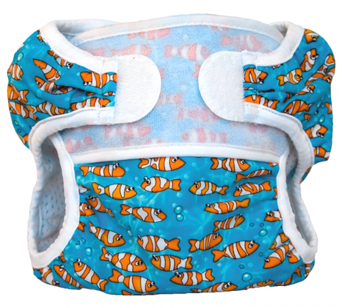 Bummis Swimmi Reusable Swim Diaper Clownfish