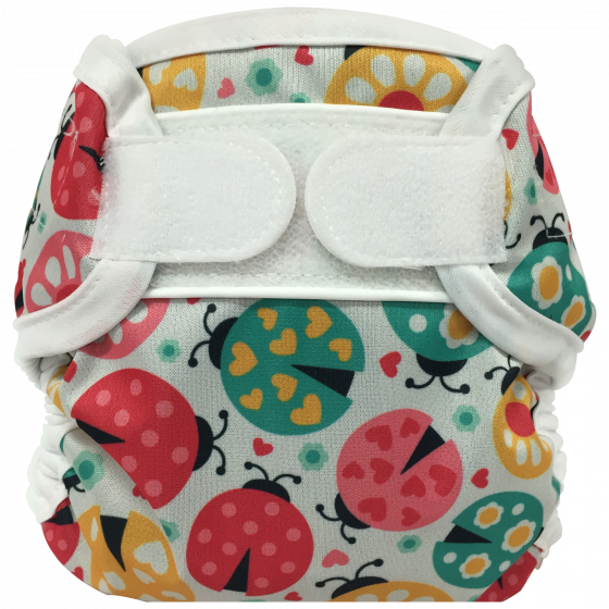 Bummis Super Whisper Wrap Diaper Cover Ladybug