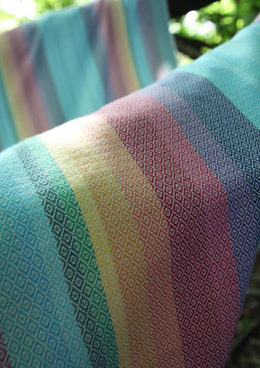Vanamo Spectra White Diamond Woven Wrap (organic cotton)