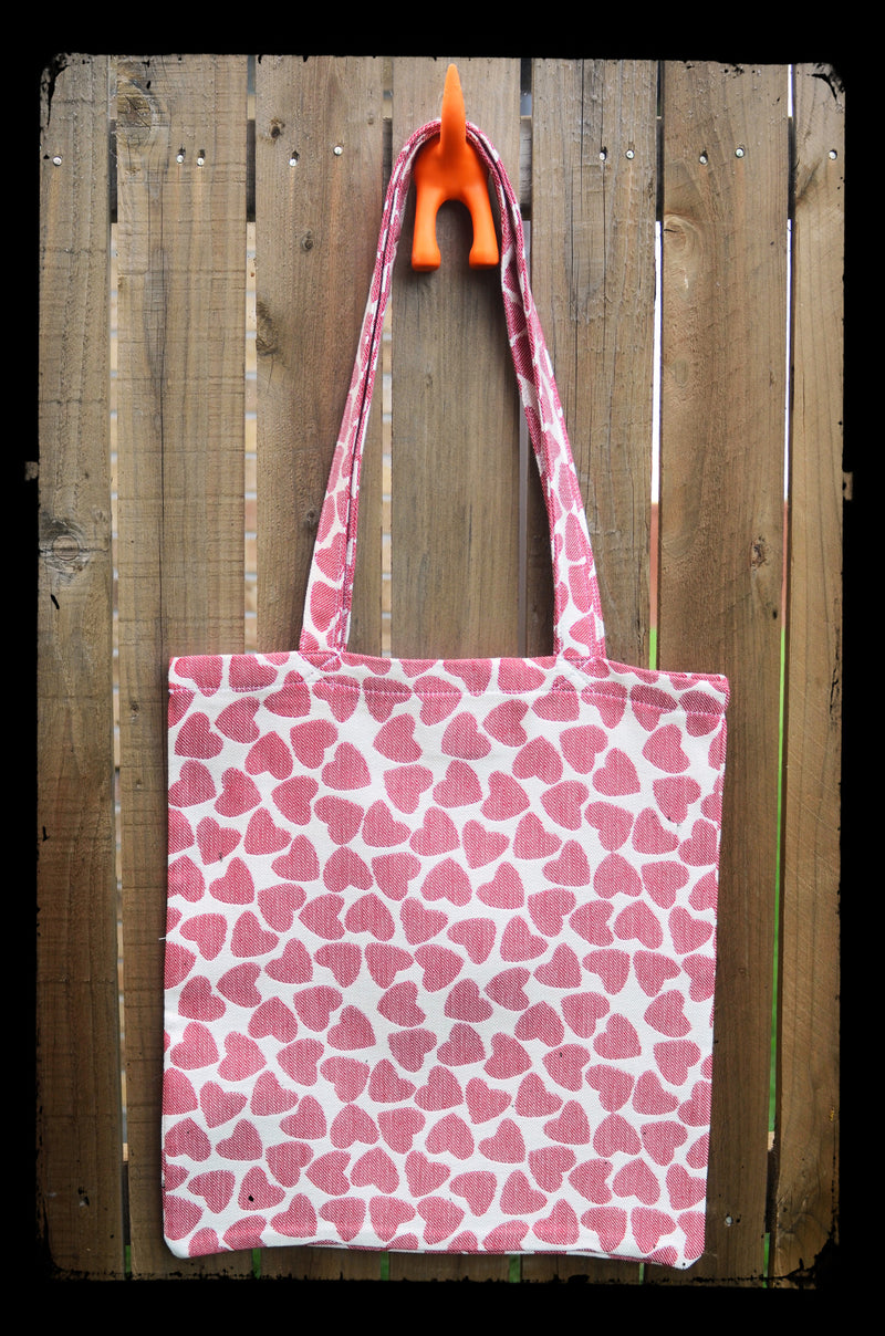 Smitten with Wovens Vena Cava Warrior Tote bag Made in America