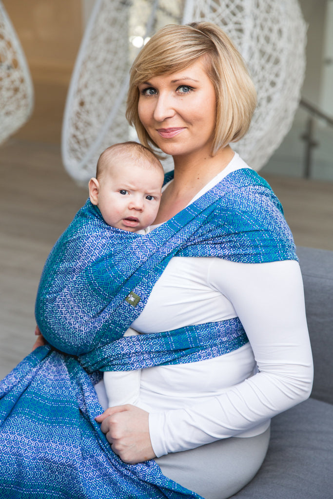 Lenny Lamb Little Love Ocean Wrap (cotton)