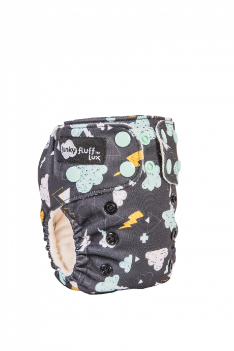 Funky Fluff Newborn 3 in 1 LUX cloth diaper