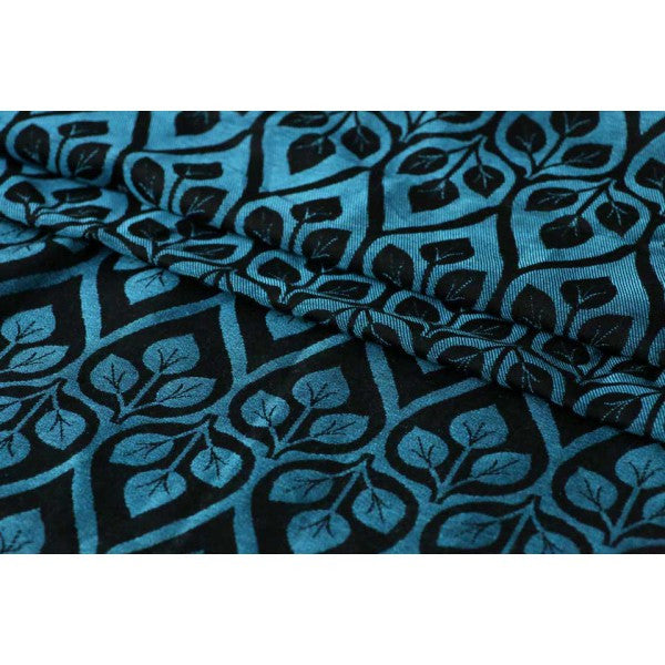 Yaro La Vita Blue Black Wrap (linen blend)