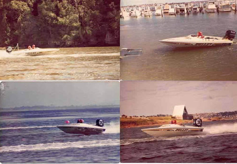 Australia Bullet Boat owned by Eric Selwood