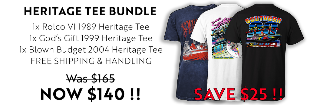 Savage Force Heritage Tee Bundle
