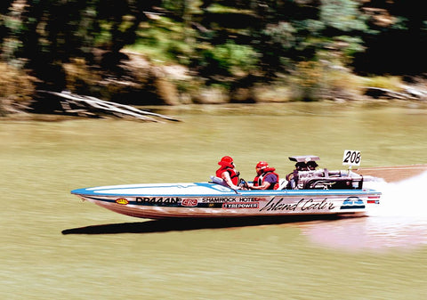 Ice Cooler Southern 80 Water Ski Race Boat