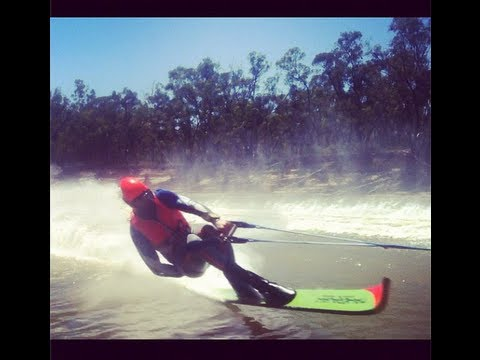 Jake Tegart Merc Force Southern 80 Water Ski Race Boat