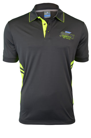 S80 2017 Men's Neon Embroidered Polo