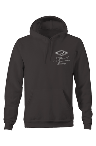Bullet Boats 50th Anniversary Faded Hoodie