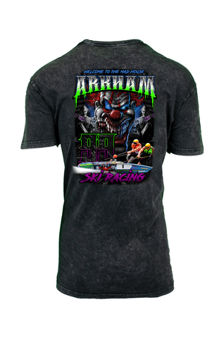Arkham 99 MAD HOUSE Stone Wash Tee