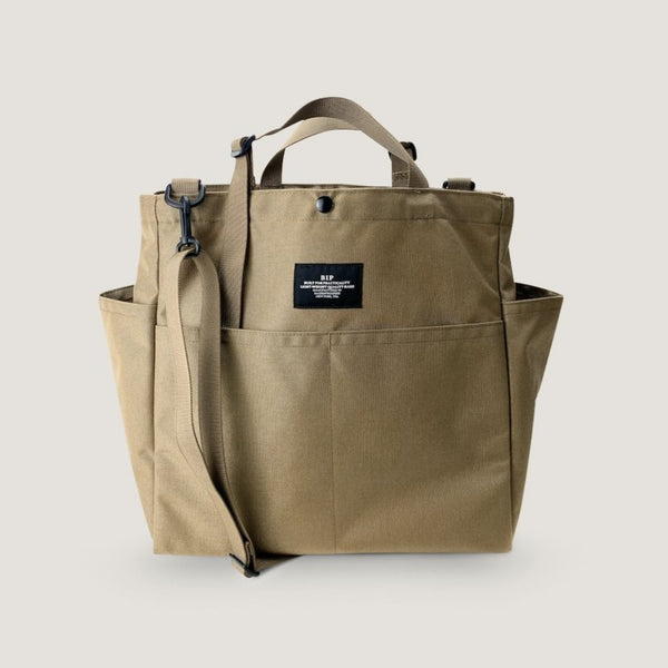 CARRY-ALL BEACH BAG - KHAKI