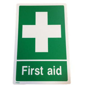 First Aid Sign  first aid bag, first aid box, first aid kit, sign  5.00 STAC First Aid