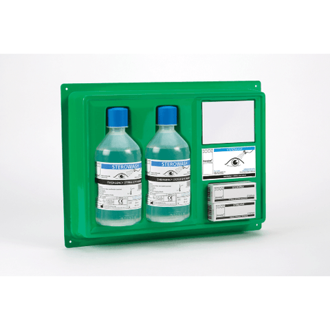 Sterowash - 500ml Eyewash Plate  eye wash, eyewash, eyewash pod  18.99 STAC First Aid