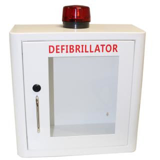 Indoor Defibrillator Cabinet with Strobe Light and Alarm  AED  169.00 STAC First Aid