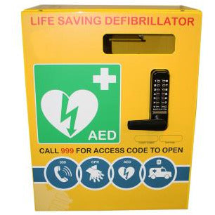Stainless Steel Defibrillator Cabinet  AED  978.00 STAC First Aid