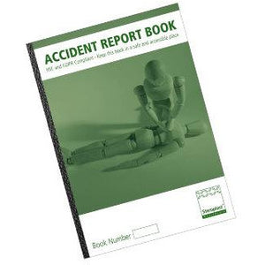 Accident Report Book  Book, First Aid room  6.99 STAC First Aid