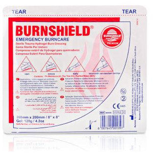 Burnshield Dressings 20CM x 20CM  burn, burn gel, burns, burnsheild, burnshield  9.99 STAC First Aid