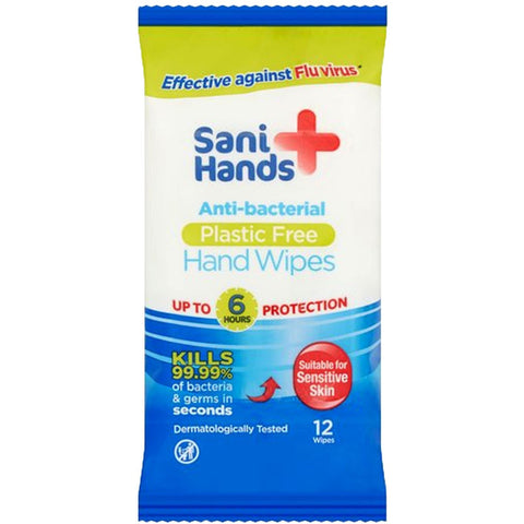 Sani Hands Anti-Bacterial Wipes