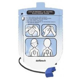 Defibtech Lifeline AED Paediatric Defibrillation Pad Package (1 set)