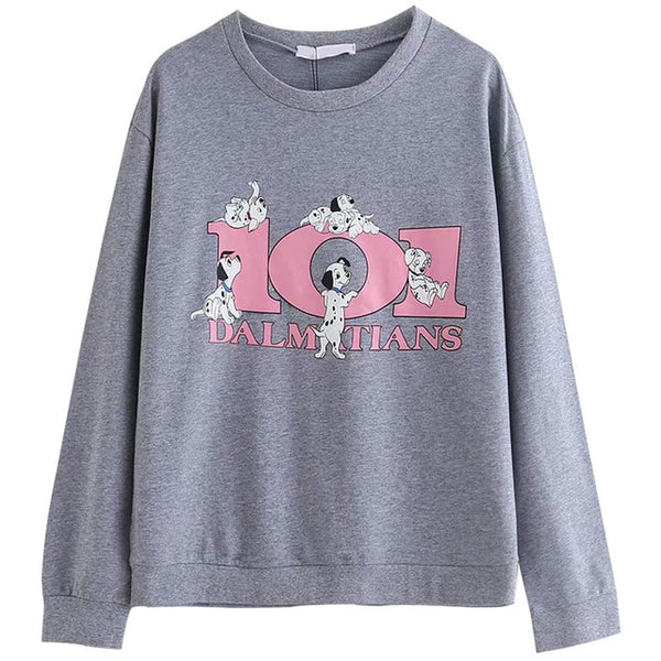 Pink / Gray 101 Dalmations Sweatshirt