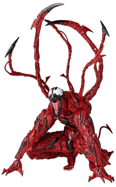 Amazing Yamaguchi 009 Revoltech Carnage Action Figure - Cult of Geek