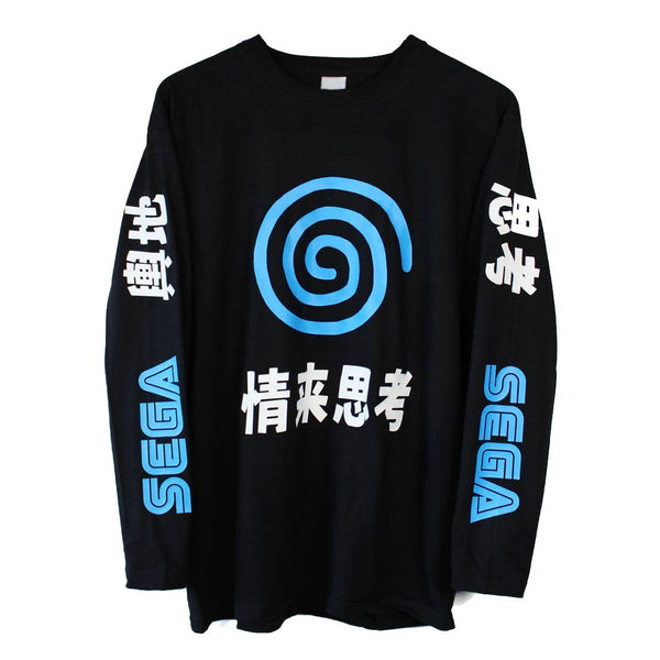 Dreamcast Japanese Long Sleeve T-Shirt - Cult of Geek