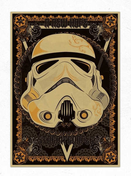Star Wars: A New Hope Exotic Stormtrooper Print