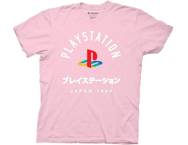 Playstation Japan 1994 Pink T-Shirt - Cult of Geek