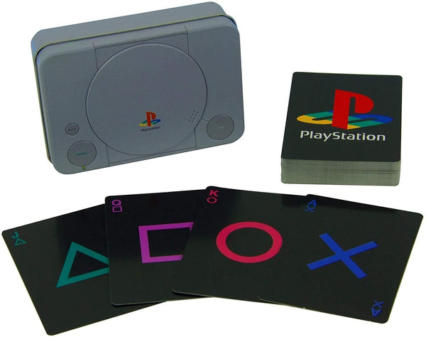 PlayStation Playing Cards and Tin Case - Cult of Geek