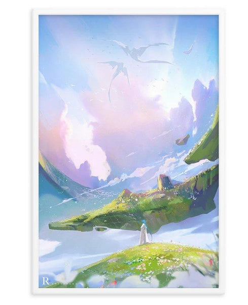 "Ross Tran ""Horizons"" Print + Wooden Frame - Cult of Geek"