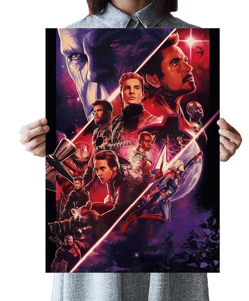 Thanos Avengers Captain Marvel Print - Cult of Geek
