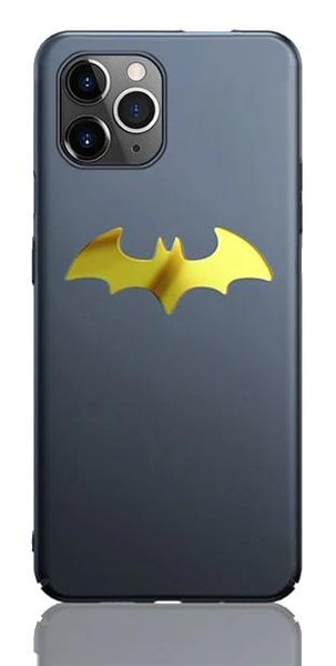 Ultra-thin Magnetic Metal Batcase for iPhone 6–11 - Cult of Geek