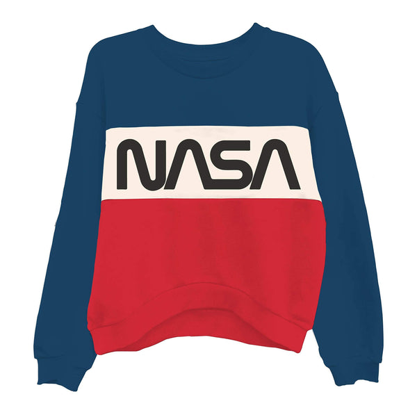Womens NASA Space Fashion Sweatshirt - Cult of Geek