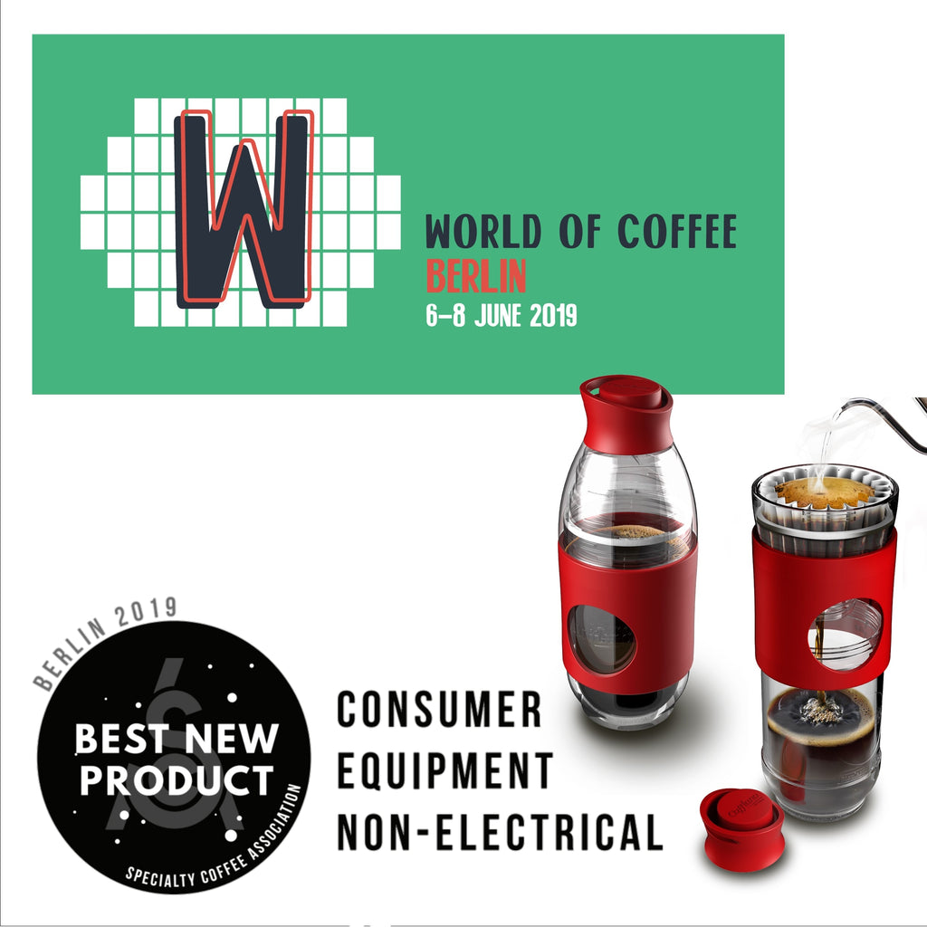 Cafflano Go-Brew - SCA Best New Product Award Winner 2019