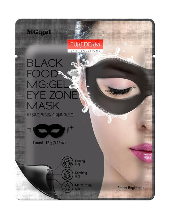 Black Food MG Gel Eye Zone Mask