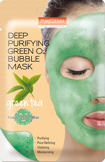 Deep Purifying Black O2 Bubble Mask