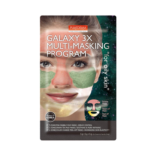 "Galaxy 3X Multi-Masking Program ""for oily skin"""